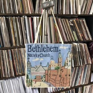 Hand Crafted Other - BETHLEHEM NATIVITY CHURCH TOTE BAG NEVER USED